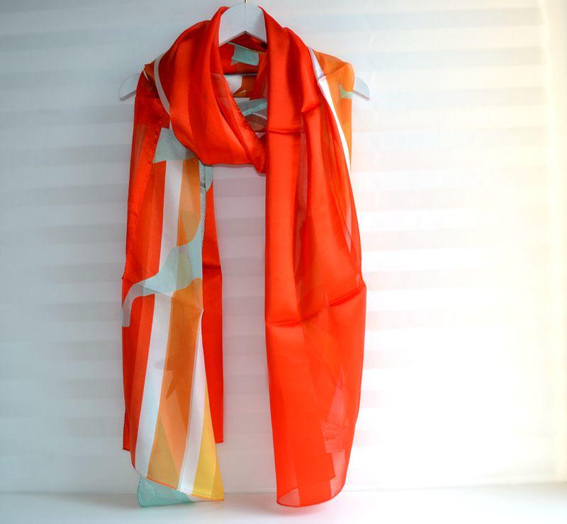 玛丝菲尔2020新款正品国内代购真丝巾围巾A2KT2214200吊牌价1280