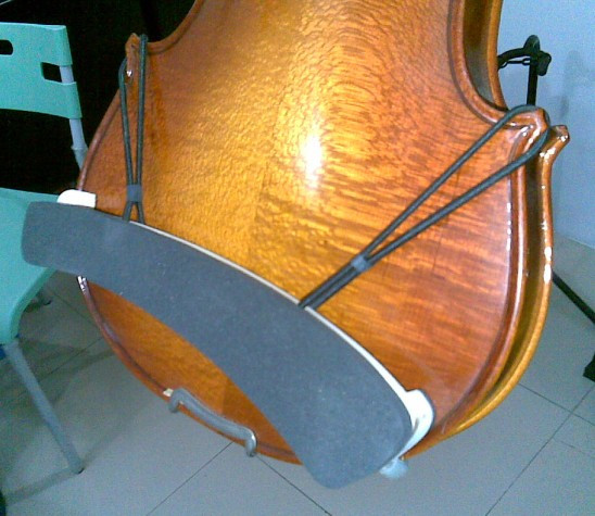 Violin shoulder pad made of solid wood for violin accessories 4 / 4 3 / 41 / 2