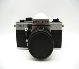 潘太康praktica MTL5专业级135胶片单反相机德国百佳带50/1.8定焦