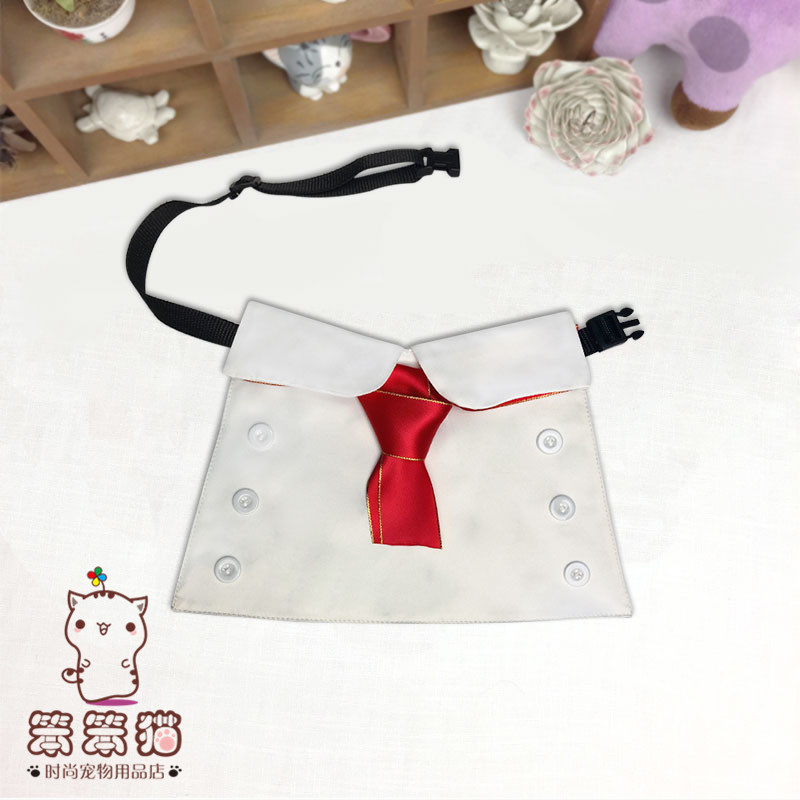 Custom Chai dog net red pet role cos acting as bullfighting chef funny Keji scarf cat scarf package