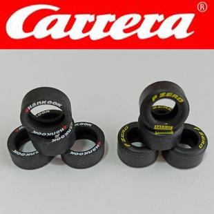 全新正品卡雷拉轨道赛车轮胎carrera132 124轮胎配件reifen tires