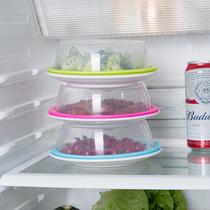 冰箱硅胶保鲜盖万能碗盖密封食用品级家用微波炉加热圆形防溅盖子