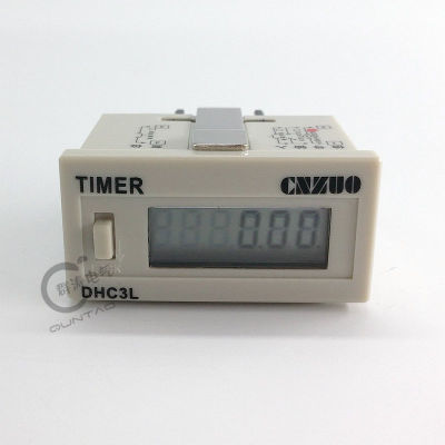 DHC3L-6 Counting timer, sensing power-off memory, digital display electronics, 6 digits
