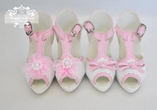 BJD shoes [high-heeled sandals sun64] (tricolor. 1 / 3) BJD.SD Baby shoes