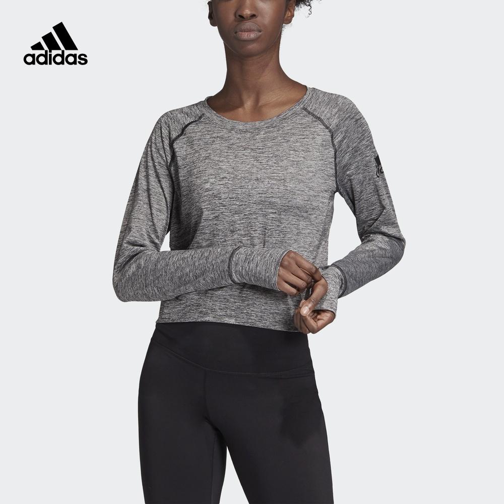 10月13日最新优惠阿迪达斯官网 adidas OPEN BACK CU 女装训练套头衫DU3412