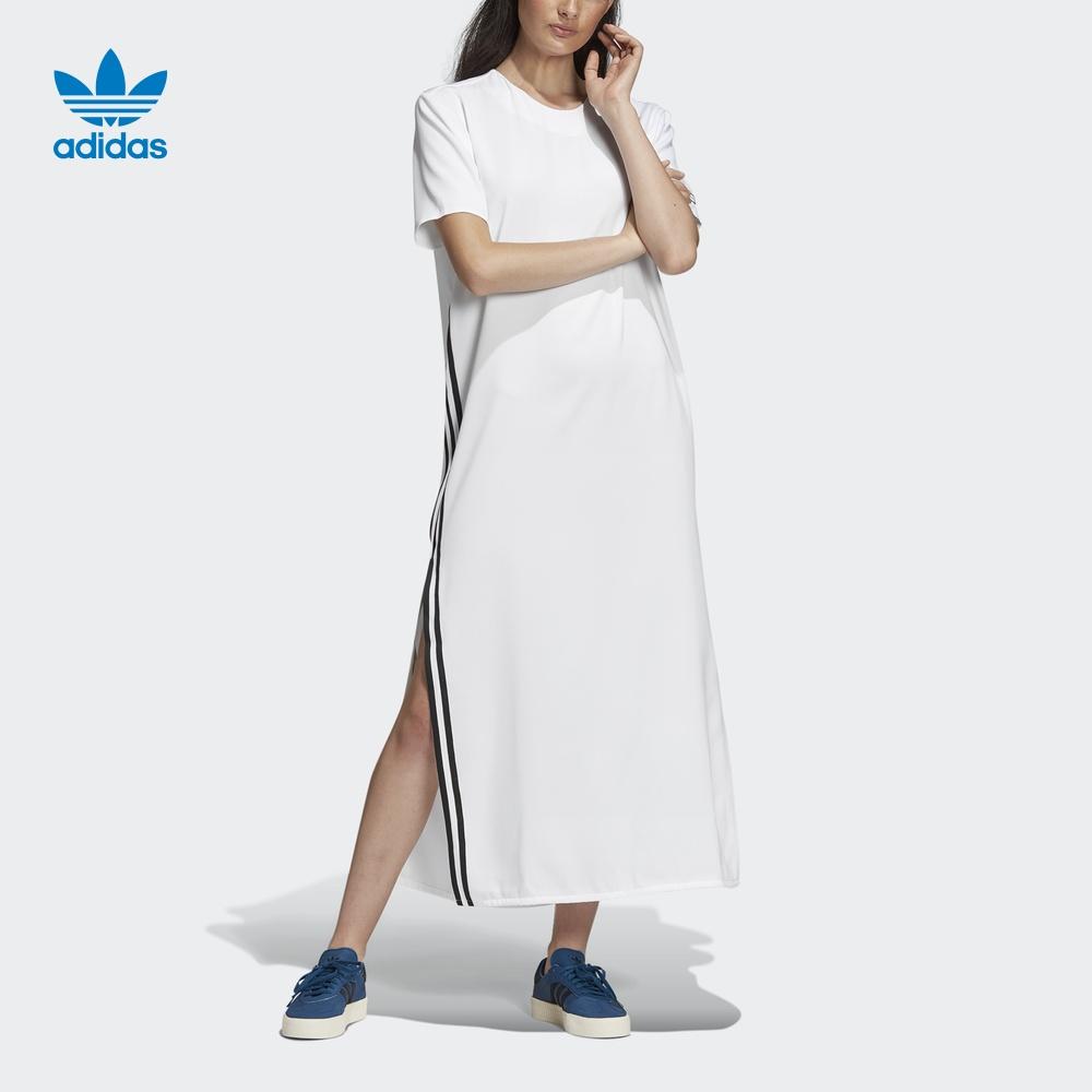 热销82件不包邮阿迪达斯官网 adidas 三叶草 DRESS 女装裙子DU7266 DU725