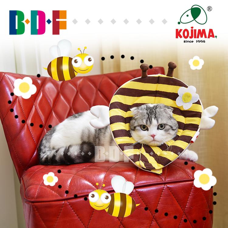 Моллюск больше аромат домашнее животное / япония Kojima домашнее животное китти ирак лиза белый круг кот ошейники голова кошки против укусить противо улов