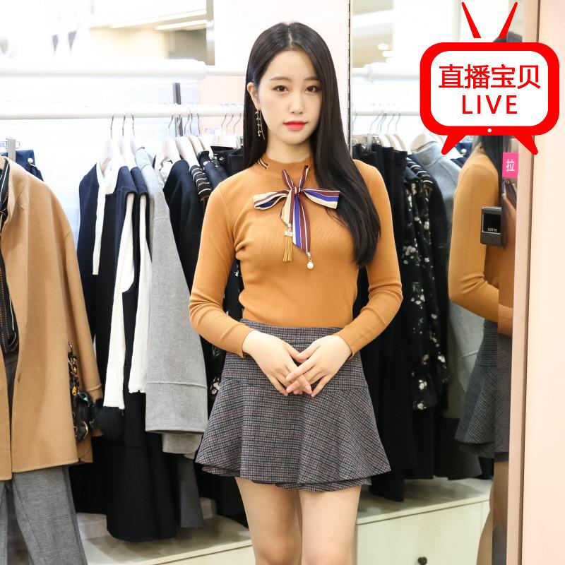 Большой царство хань пузырь сахар покупать в южной корее SOUP STALKU1 2017 зима хеджирование свитер женщина
