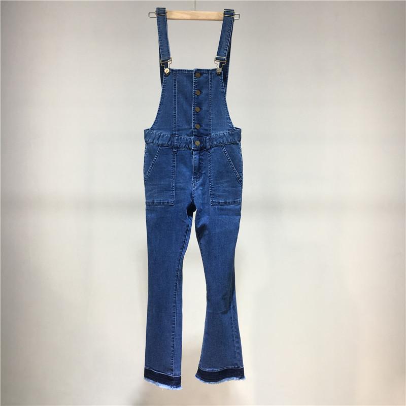 【品质女装】J◆商场撤柜女装品牌折扣店专柜正品剪标牛仔背带裤