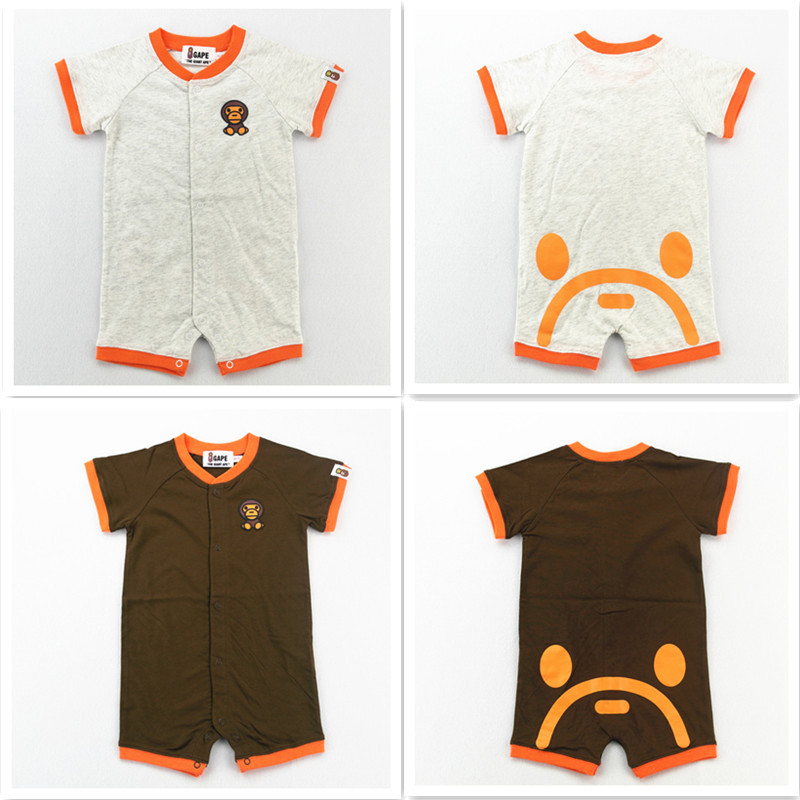 Chao brand baby short sleeve Jumpsuit all cotton cartoon Jumpsuit