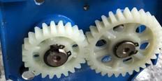 海鸥70A手动切片  绞肉机 切丝机配件 尼龙齿轮 塑料齿轮一对