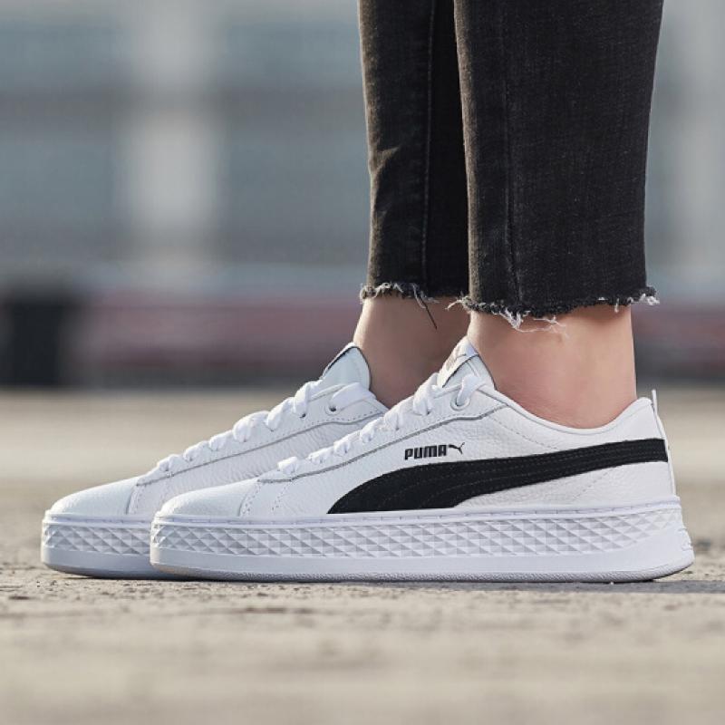 有赠品puma秋季厚底小白鞋休闲运动女鞋