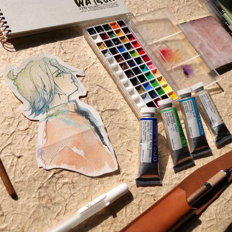 Рисунки акварелью Артикул 607084220763