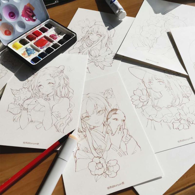 Рисунки акварелью Артикул 614300395577