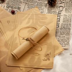 一套包邮小鹿创意信封复古信纸信封套装情书信封小清新简约文艺
