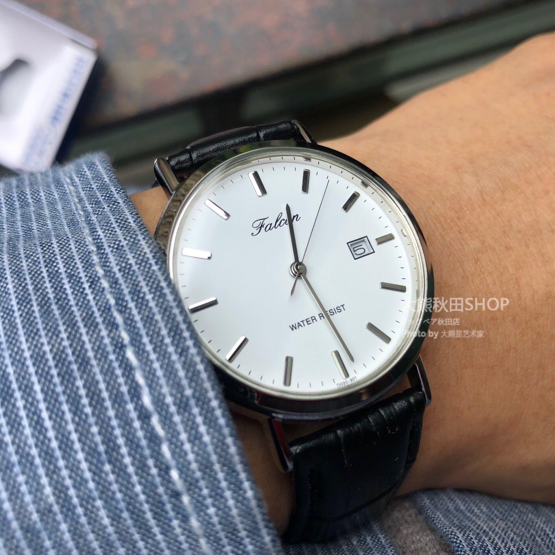 CITIZEN西鐵城子品牌Q&Q flcon獵鷹石英錶 男女學生手錶 簡約