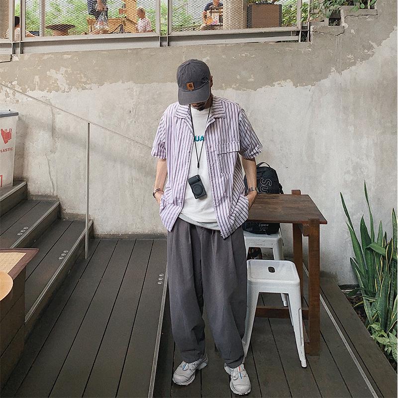 equality夏季日系复古松紧腰阔腿裤券后158.00元