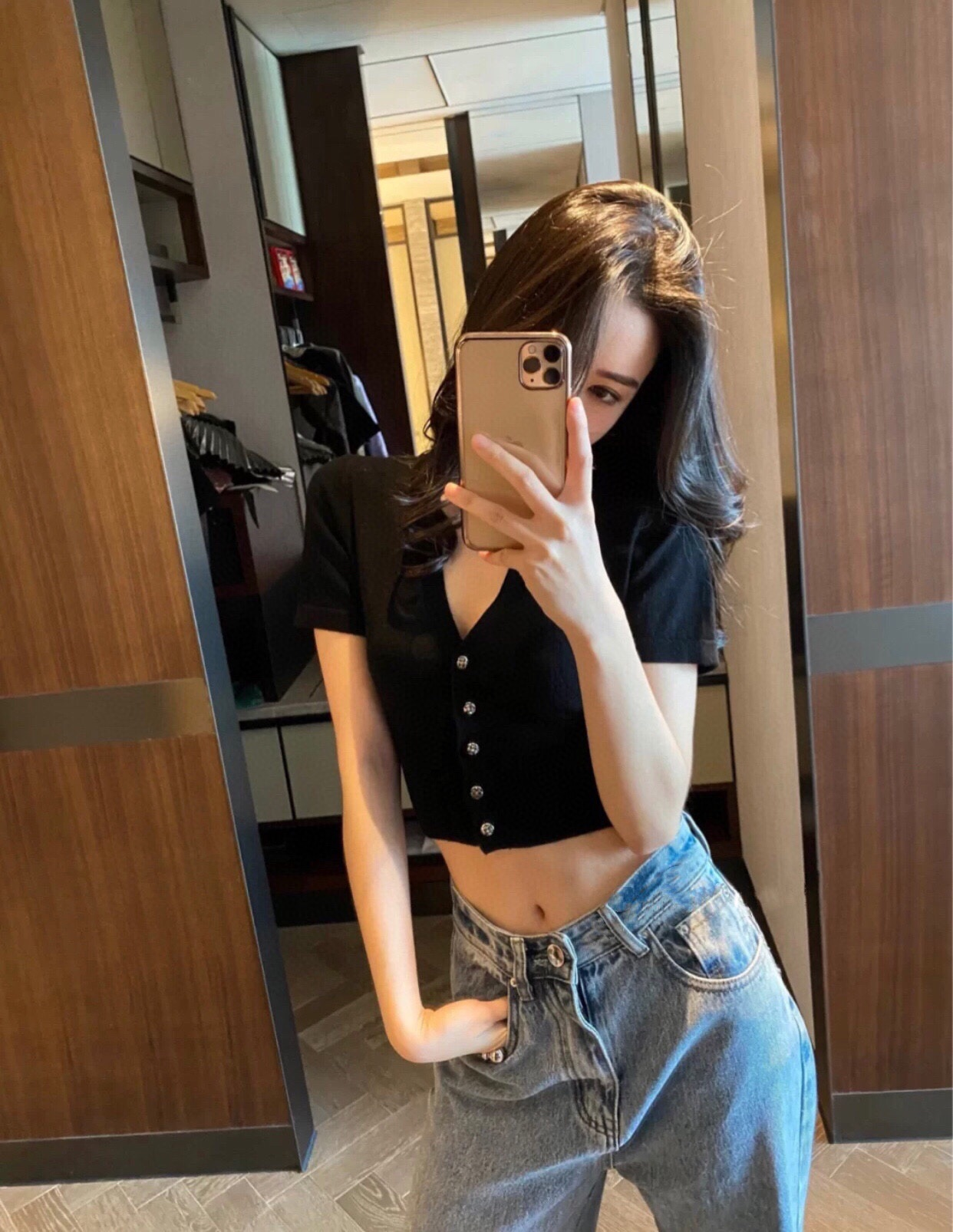 Chunyuan cross summer new worn metal cashmere short sleeve knitted cardigan small coat for women