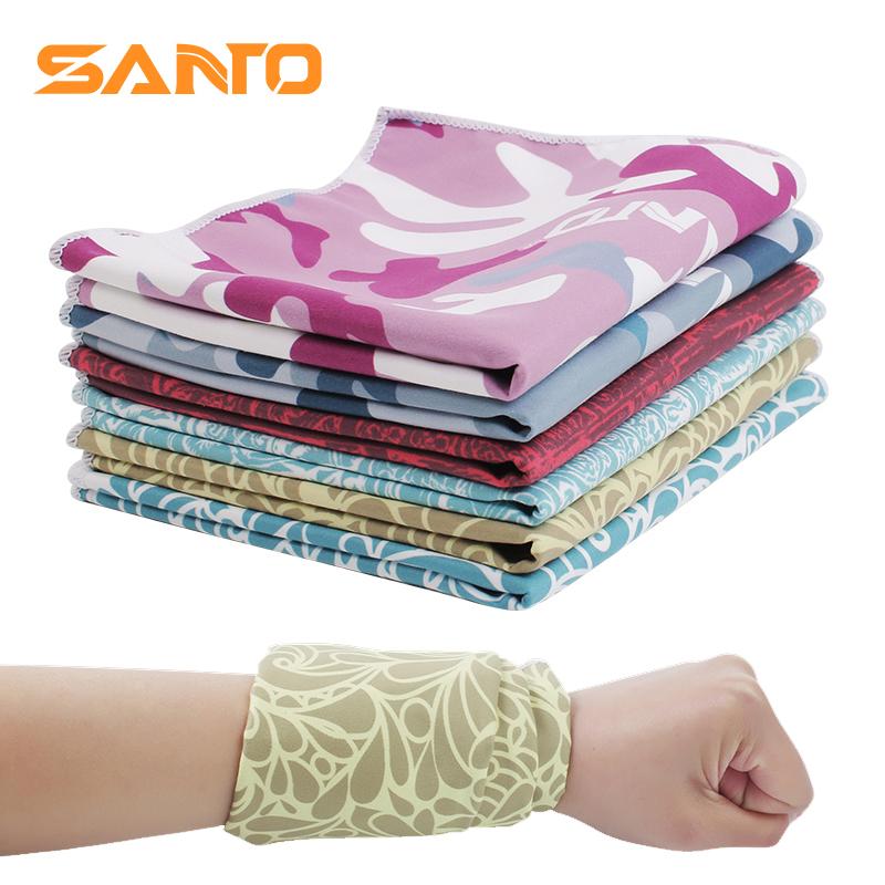 Outdoor exercise wristband towel Fitness Yoga running badminton sweat absorbing wipe wrist climbing desert equipment