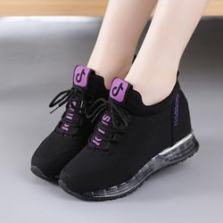 2020一脚蹬懒人鞋休闲女鞋低帮帆布鞋女内增高运动鞋加绒保暖棉鞋
