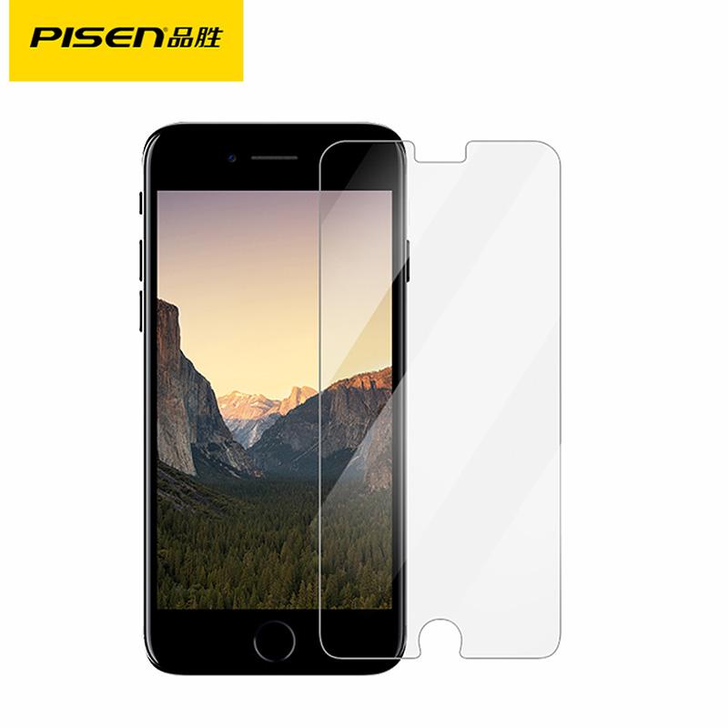 品勝蘋果7手機貼膜iPhone7 7plus弧邊防爆玻璃膜手機保護膜0.2mm