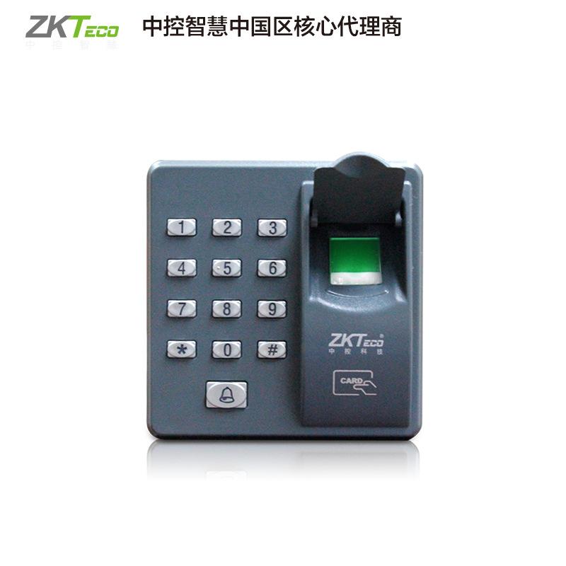 中控智慧ZKteco指纹门禁机门禁系统门禁玻璃门打卡机考勤X6
