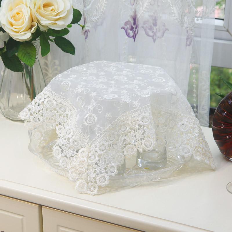 茶具茶盘布巾多用小方巾家用厨房小电器防尘遮盖布笔记本电脑盖巾图片