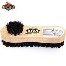 Red bird Qiwei shoes brush horse fur shoes oil brush leather leather cleaning care tools shoes brush soft brush