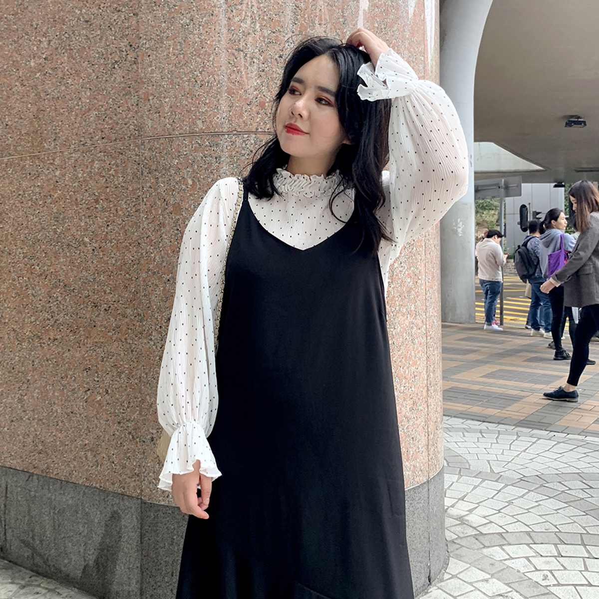 大码女装雪纺衫