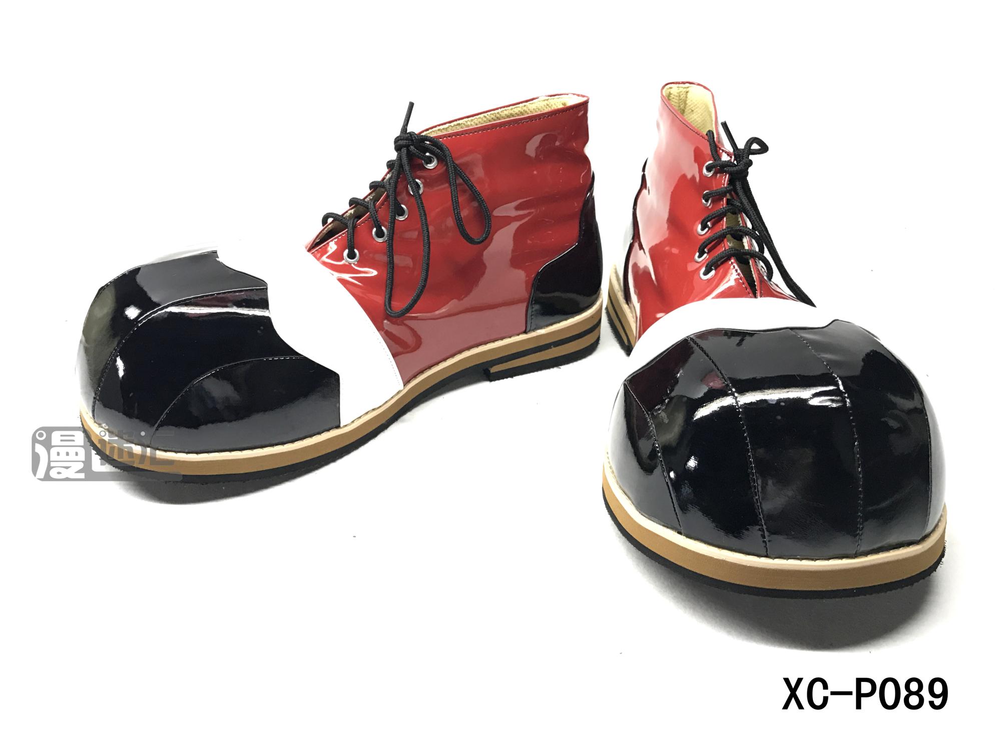 高端撞色大圆头系列小丑鞋 clown shoes小丑角色扮演鞋XC-P089