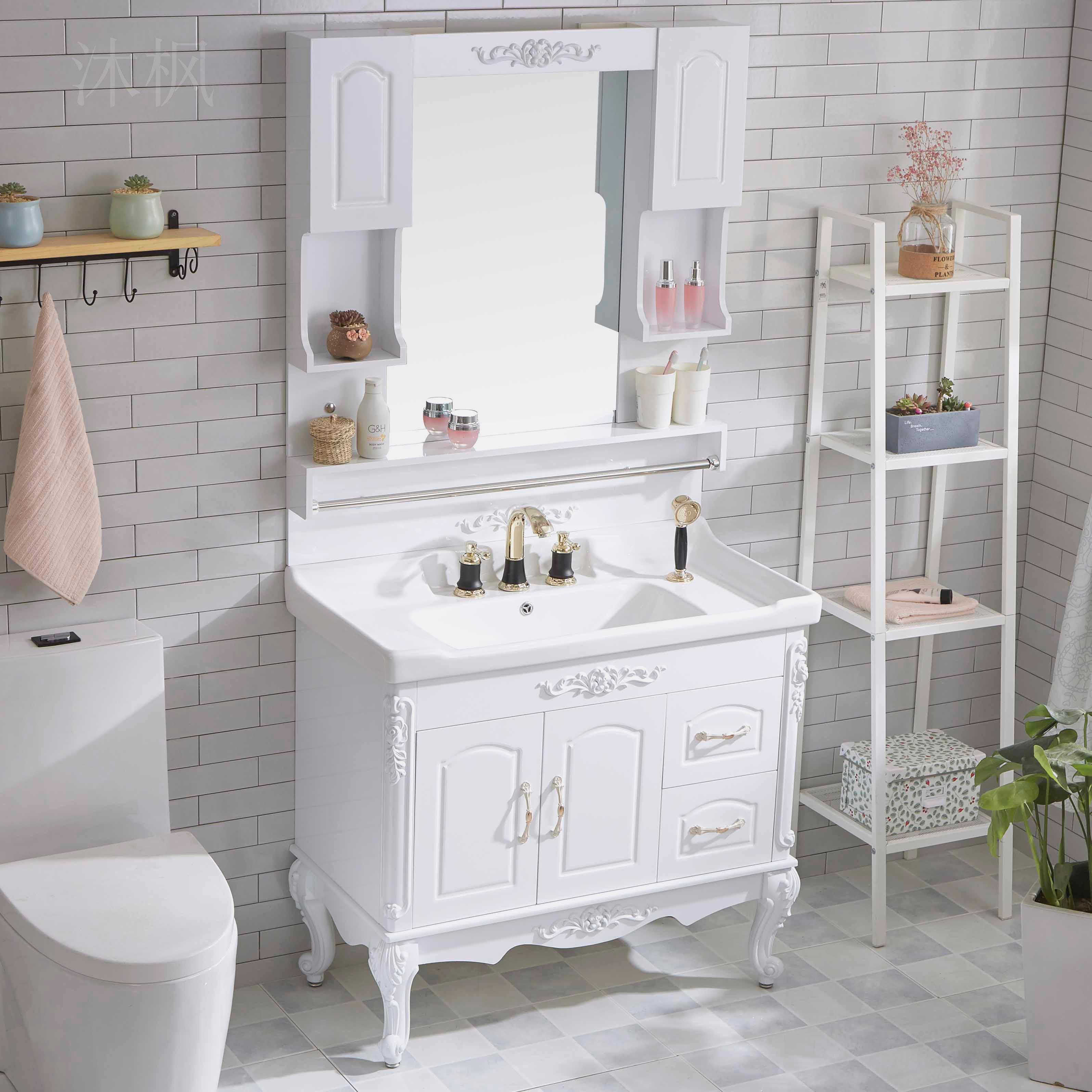 现代简约小户型卫生间洗手柜浴室柜(非品牌)