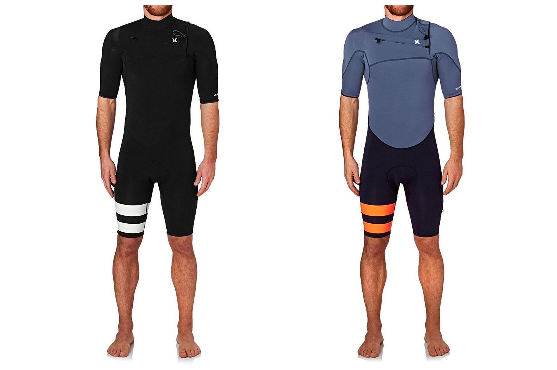 Прибой холодный одежда Hurley Short-Sleeve Springsuit Wetsuit короткий рукав половина мокрый одежда