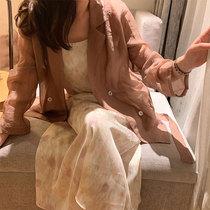 f2菲小姐2020韩版夏内搭细肩带碎花背心裙吊带裙女气质雪纺连衣裙