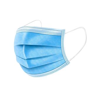 白色一次性独立单独包装三层口罩