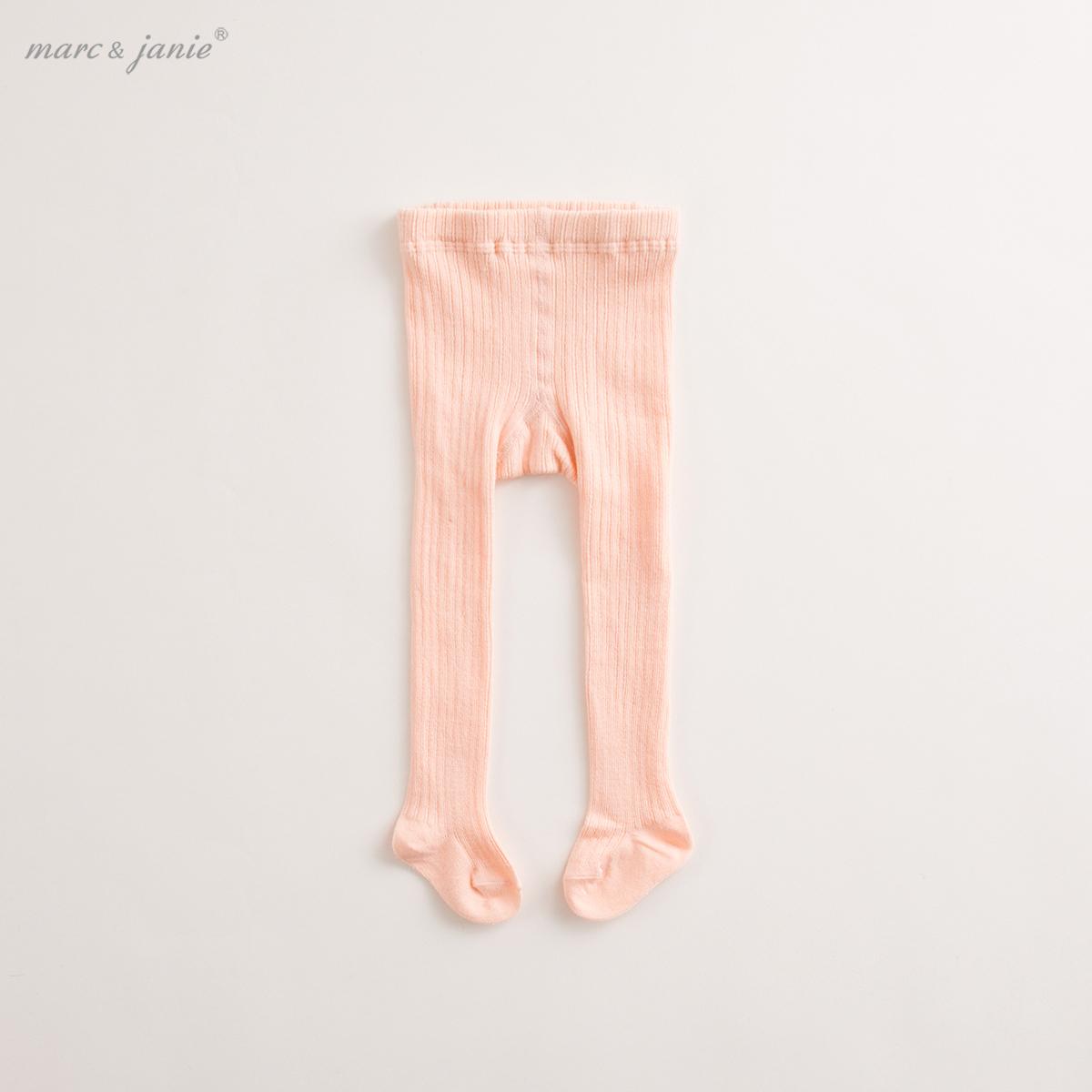 marcjanie馬克珍妮 2017春夏新品寶寶打底褲 女童兒童連褲襪76009