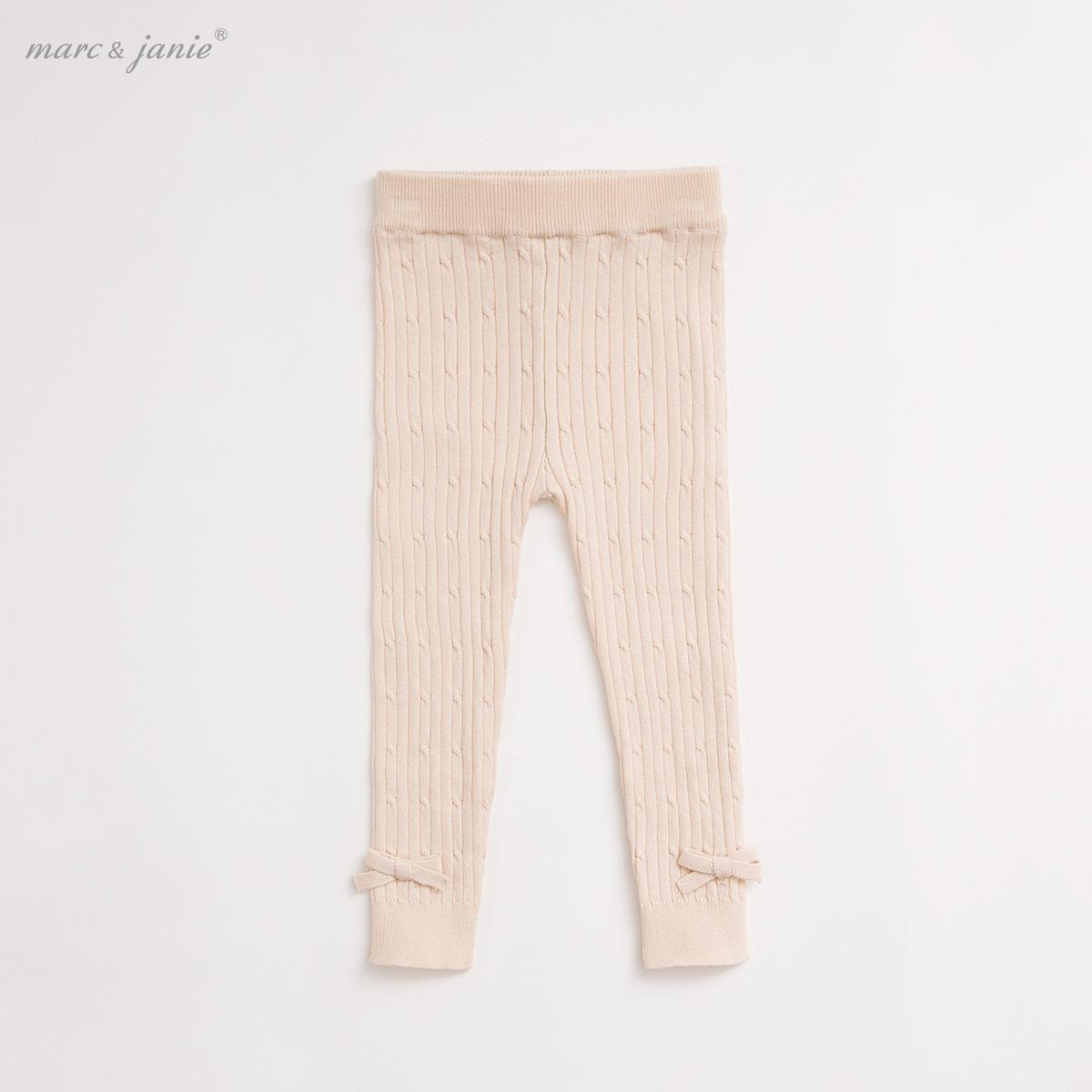 ~經久耐穿 不易變形~馬克珍妮寶寶針織長褲 女童打底褲15926