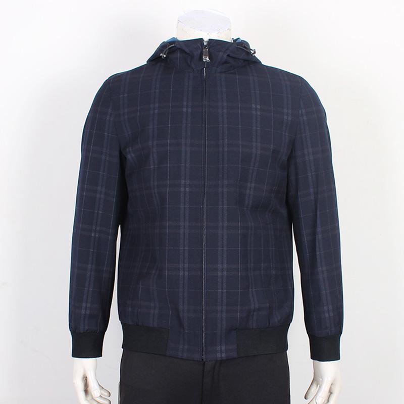 Jinlilai brand mens jacket autumn 1 regular version new wool Hooded Jacket mjs2013401-95 C