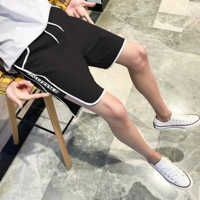 现货夏装 情侣装男士短裤休闲裤大码潮牌裤子商场港风 BK106 P30