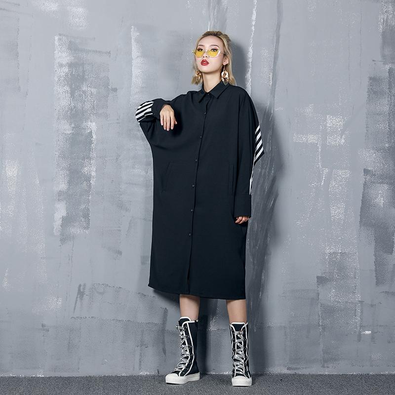12月01日最新优惠衬衫裙女中长款设计感小众连衣裙