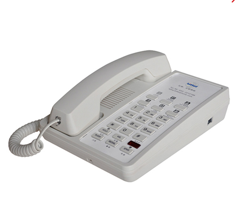 Bittel new type hotel room telephone -- blue moon A8 series