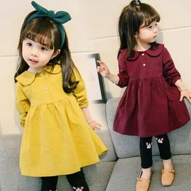 婴儿童装1岁女宝宝春装2女童长袖公主裙子3小女孩洋气连衣裙春秋4图片