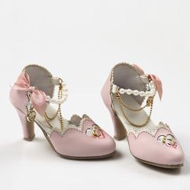 ASDOLL天使工房,BJD鞋子,3分/62女星空高跟鞋-粉,SH317111F