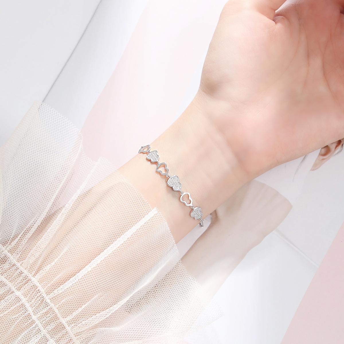 手链ins小众设计葫芦手镯女纯银韩版简约个性气质网红轻奢学生925限100000张券