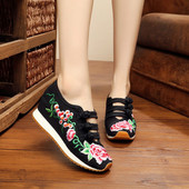 Chinese-Style Embroidered Shoes