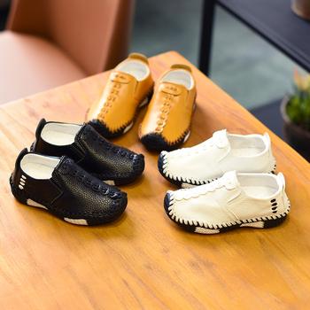 2020春季韩版男童软底小男孩皮鞋