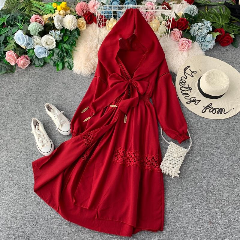 民族风旅游青海湖沙漠拍照连衣裙子11月18日最新优惠
