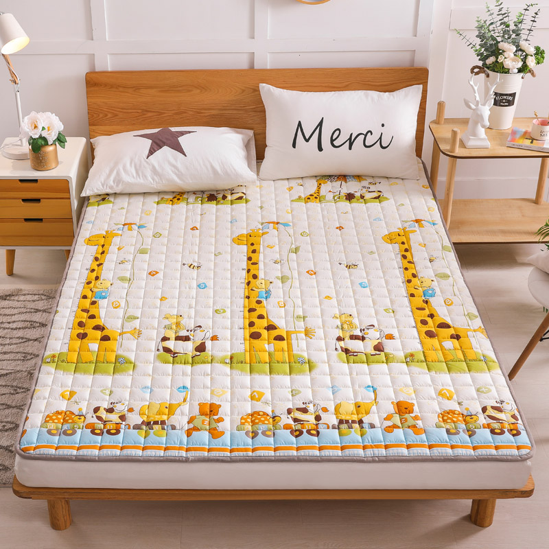 Pure cotton quilt bed mat in mosquito net bed mat in summer