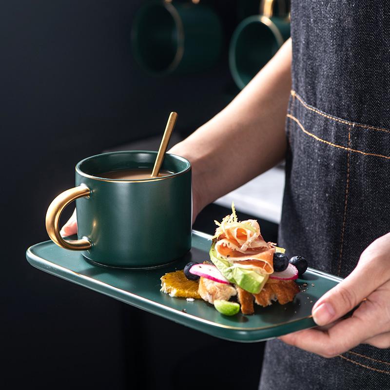咖啡杯套装欧式小奢华单个带勺杯子券后29.80元