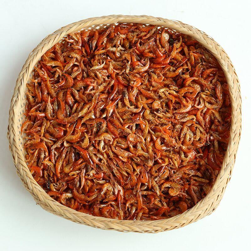 鳳凰古城特產河蝦干沱江小蝦米淡水蝦野生無鹽小蝦皮250g兩份包郵