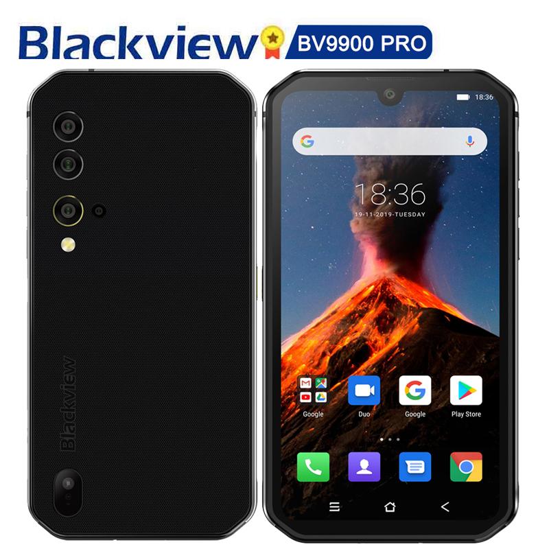 携帯電話8+128本物のblackview bv 9900 pro赤外線写真撮影Android三防知能マシン